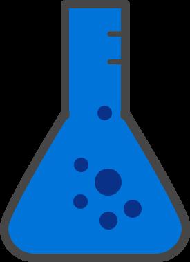 laboratory chemistry flask