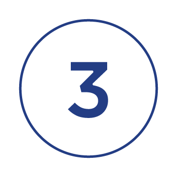 number three in a circle symbol