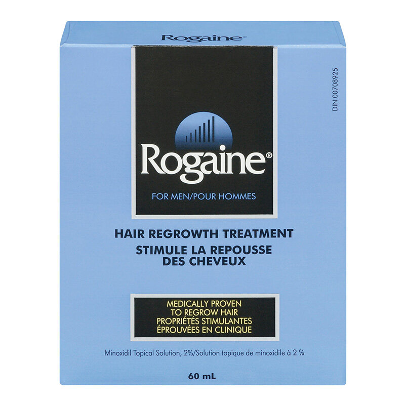ROGAINE® 60 ml hair regrowth treatment for men
